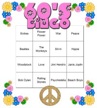 60's Party Ideas and Supplies