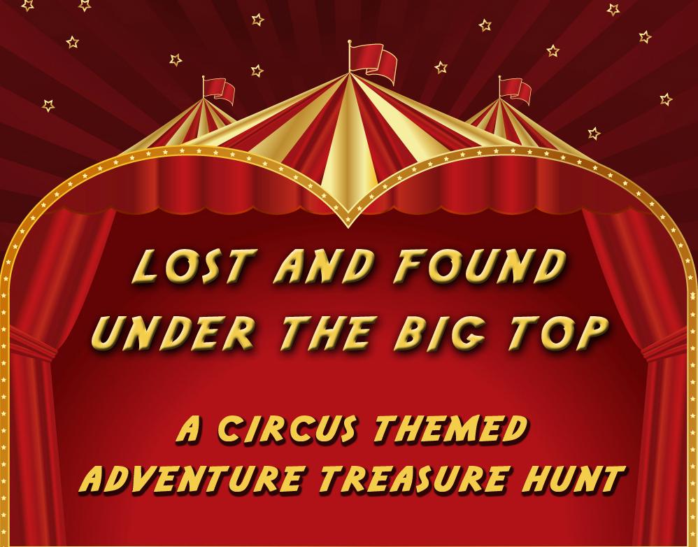 Circus Theme Treasure Hunt