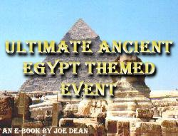 Ancient Egypt Theme Party Ideas