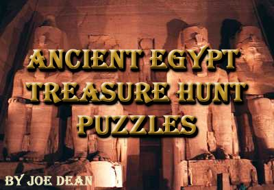 Ancient Egypt Treasure Hunt Puzzles