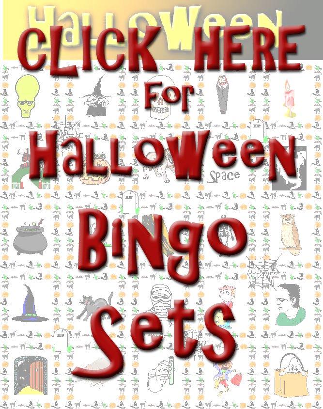 pirate bingo - Free Printable Halloween Bingo Game Cards