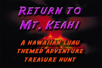Hawaiian Themed Treasure Hunt