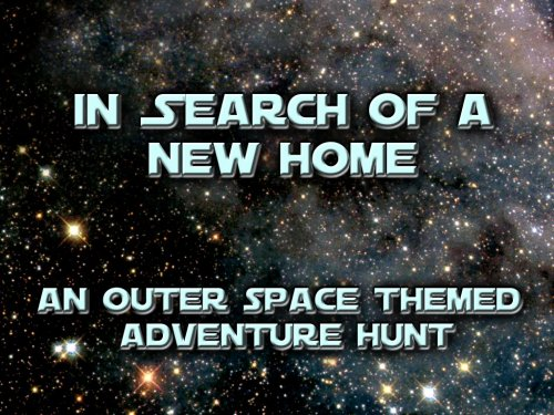 Space Themed Treasure Hunt