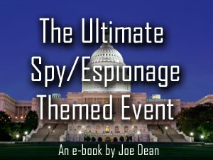 spy theme party ideas