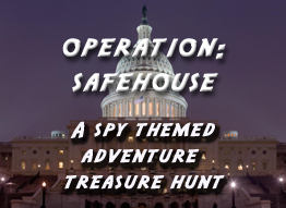 spy themed treasure hunt