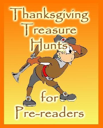 Thanksgiving Prereader Puzzles