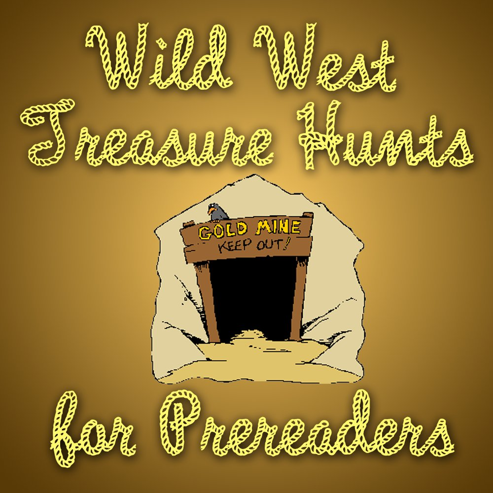 Western Prereader Treasure Hunt